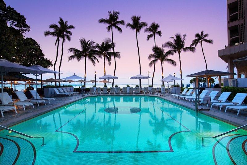 Moana Surfrider, A Westin Resort & Spa, Waikiki Beach - Pool <br/>Image from Leonardo