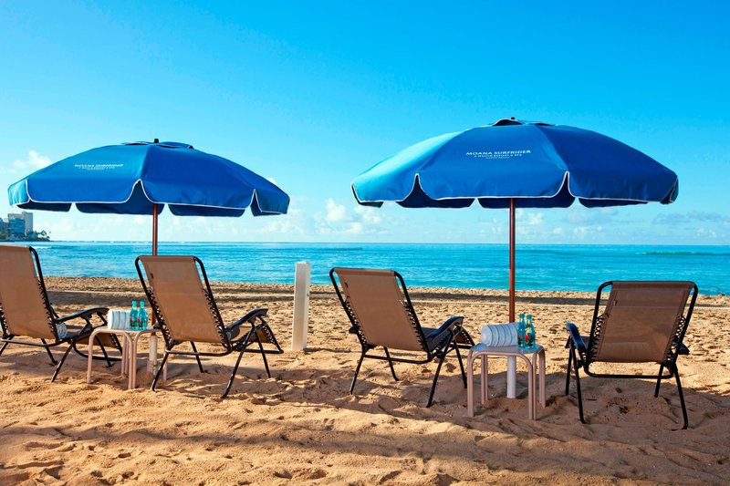 Moana Surfrider, A Westin Resort & Spa, Waikiki Beach - Moana Beach <br/>Image from Leonardo