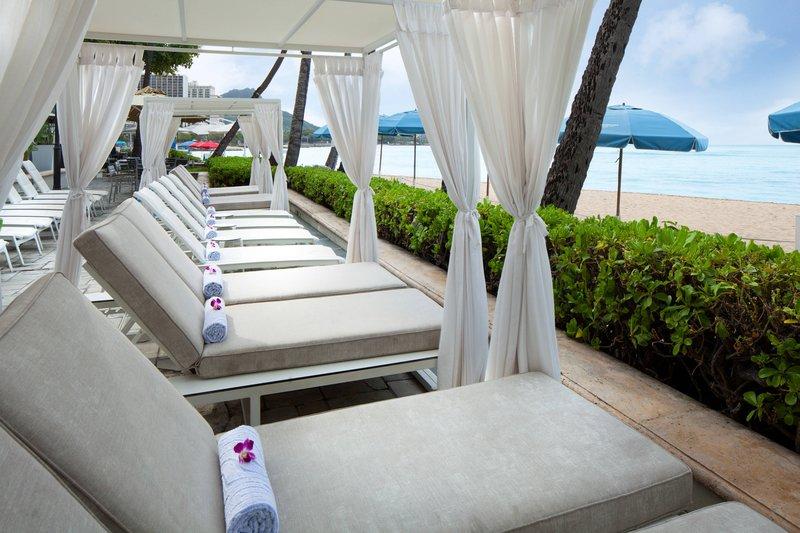 Moana Surfrider, A Westin Resort & Spa, Waikiki Beach - Cabanas <br/>Image from Leonardo