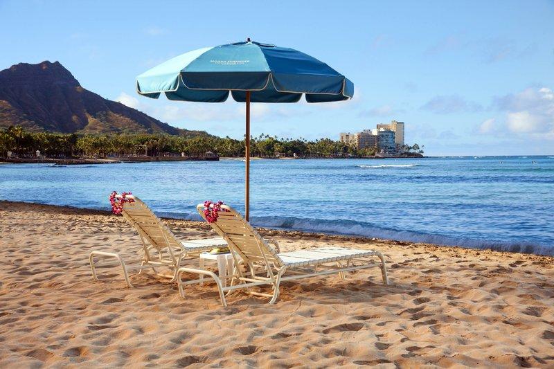 Moana Surfrider, A Westin Resort & Spa, Waikiki Beach - Beach Umbrella <br/>Image from Leonardo