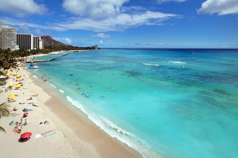 Moana Surfrider, A Westin Resort & Spa, Waikiki Beach - Diamond Head <br/>Image from Leonardo