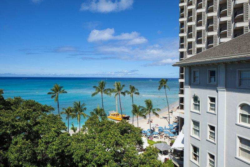 Moana Surfrider, A Westin Resort & Spa, Waikiki Beach - Roof Top Garden View <br/>Image from Leonardo