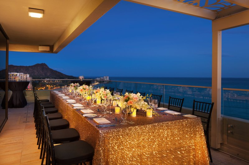 Moana Surfrider, A Westin Resort & Spa, Waikiki Beach - Penthouse Reception <br/>Image from Leonardo