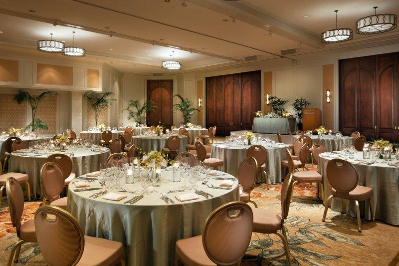 Moana Surfrider, A Westin Resort & Spa, Waikiki Beach - Ballroom - Wedding Reception <br/>Image from Leonardo