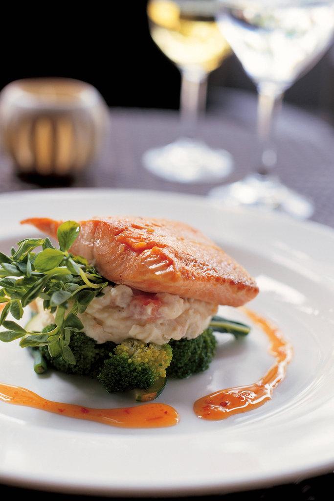 Tropica Island Resort-Salmon Dish<br/>Image from Leonardo