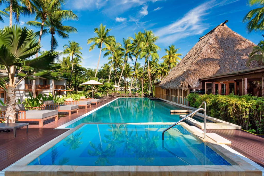 Tropica Island Resort-Heavenly Spa by Westin - Outdoor Lap Pool and Deck<br/>Image from Leonardo
