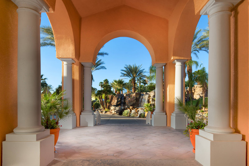 Westin Mission Hills Golf Resort-Arches with Fountain<br/>Image from Leonardo