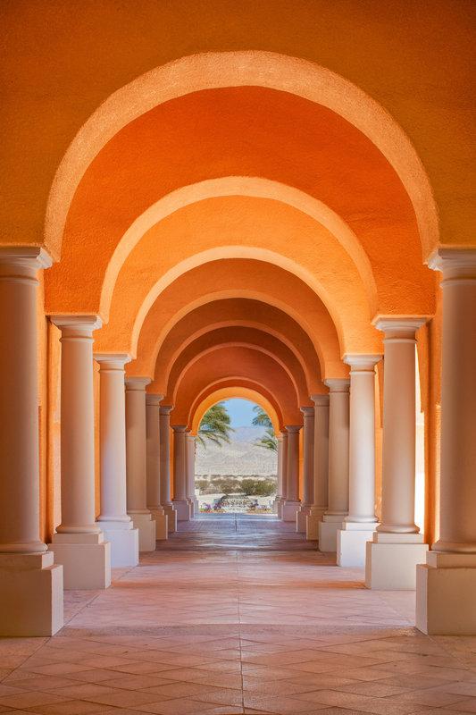 Westin Mission Hills Golf Resort-Entry Archway<br/>Image from Leonardo