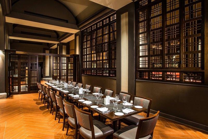 Westin Mission Hills Golf Resort-Pinzimini Private Dining Area<br/>Image from Leonardo