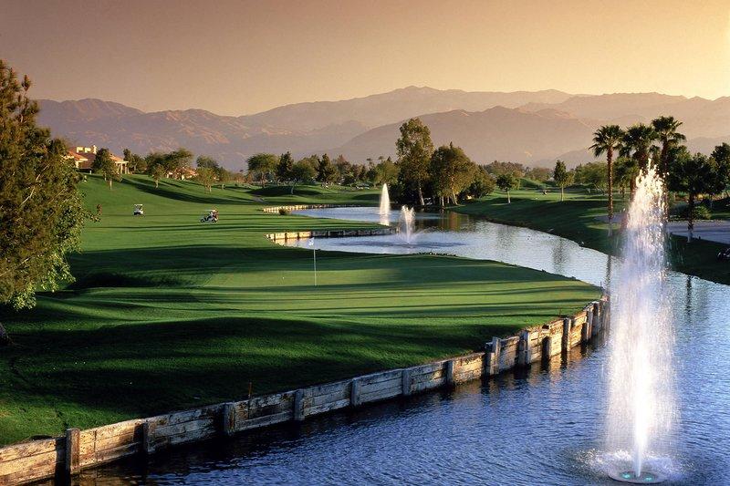 Westin Mission Hills Golf Resort-18th Hole Pete Dye<br/>Image from Leonardo