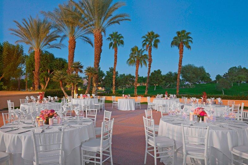 Westin Mission Hills Golf Resort-Wedding Reception at Masters Plaza<br/>Image from Leonardo