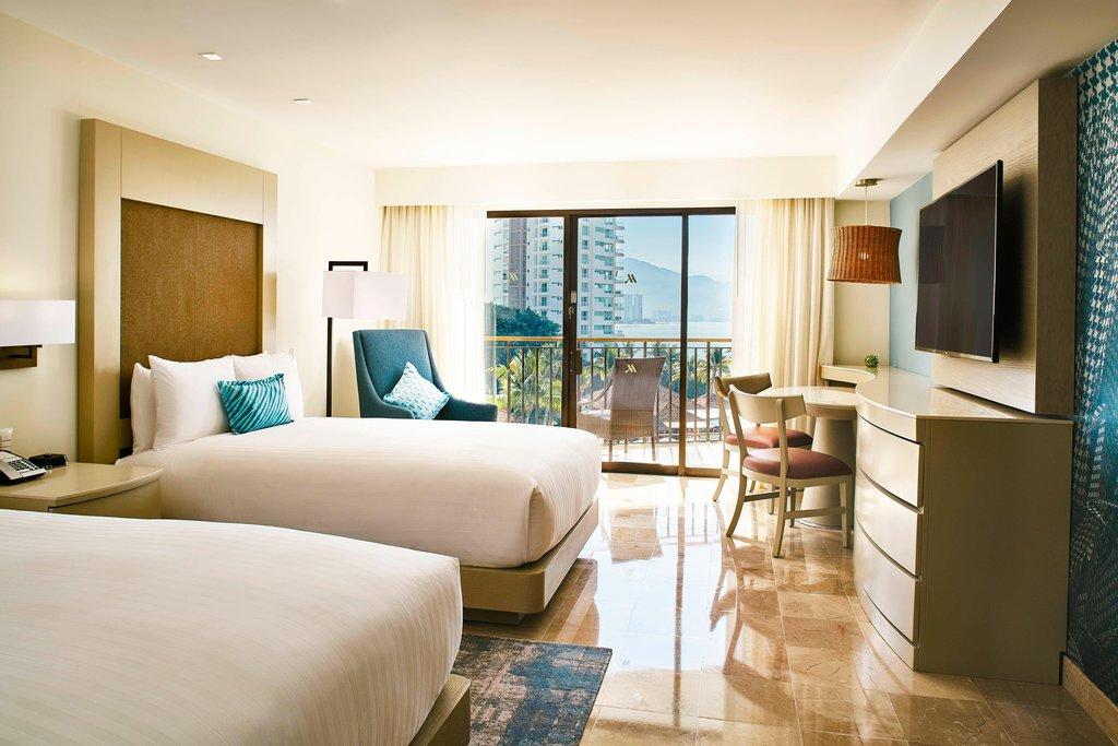 Marriott Puerto Vallarta Resort & Spa - Double/Double Guest Room <br/>Image from Leonardo