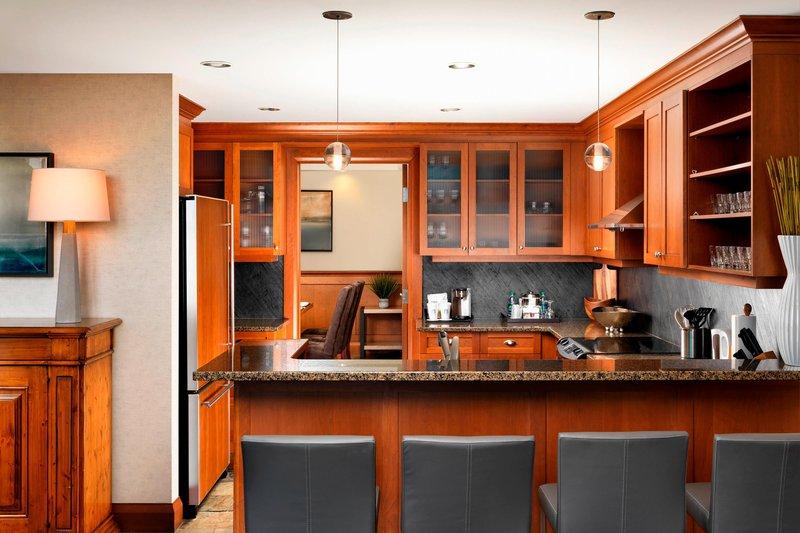 The Westin Bear Mountain Victoria Golf Resort & Spa-Penthouse Kitchen<br/>Image from Leonardo