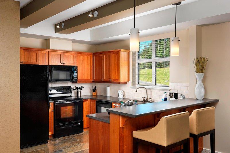 The Westin Bear Mountain Victoria Golf Resort & Spa-Corner Suite Clubhouse - Kitchen<br/>Image from Leonardo
