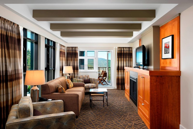 The Westin Bear Mountain Victoria Golf Resort & Spa-Clubhouse Corner Suite - Living Area<br/>Image from Leonardo