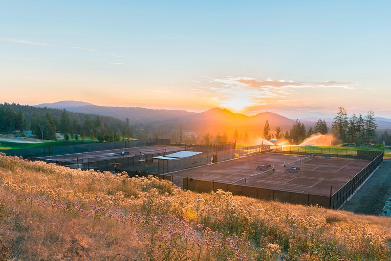 The Westin Bear Mountain Victoria Golf Resort & Spa-Tennis Court<br/>Image from Leonardo