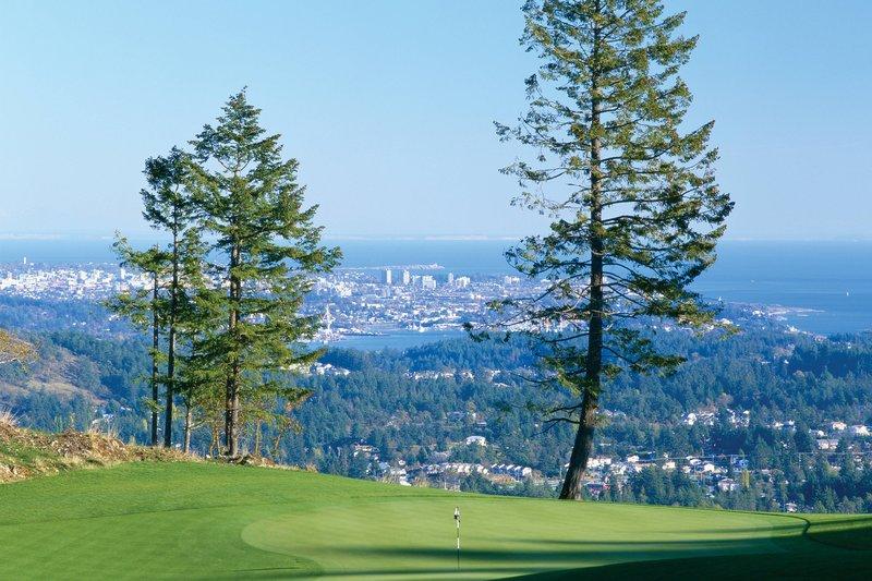 The Westin Bear Mountain Victoria Golf Resort & Spa-Bear Mountain Golf Course - Hole #14<br/>Image from Leonardo