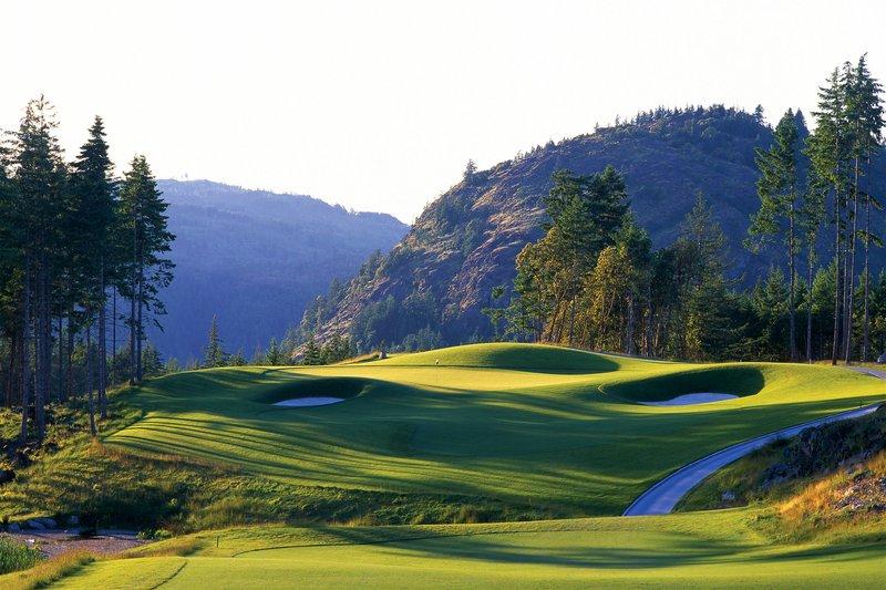 The Westin Bear Mountain Victoria Golf Resort & Spa-Bear Mountain Golf Course - Hole #15<br/>Image from Leonardo