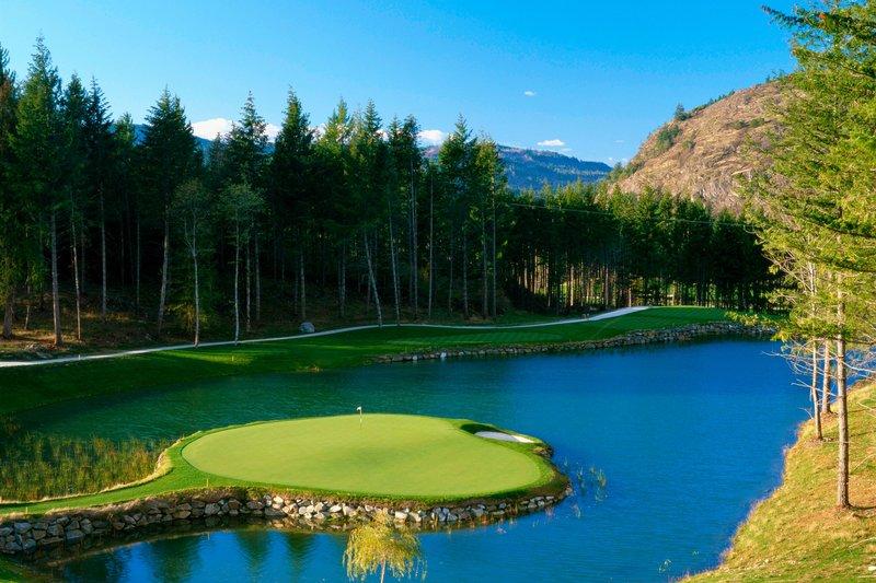 The Westin Bear Mountain Victoria Golf Resort & Spa-Mountain Hole #11<br/>Image from Leonardo