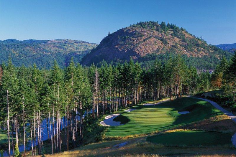 The Westin Bear Mountain Victoria Golf Resort & Spa-Mountain Hole #16<br/>Image from Leonardo