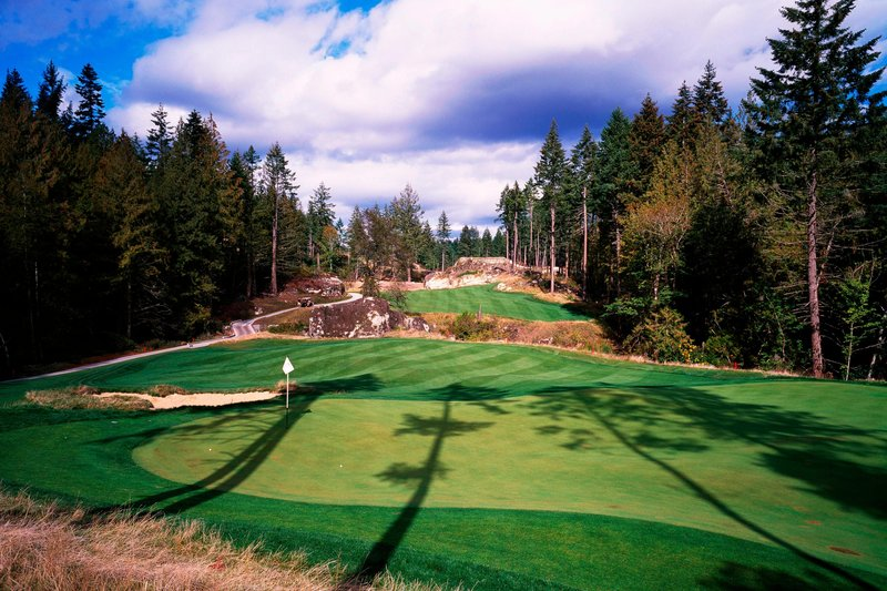 The Westin Bear Mountain Victoria Golf Resort & Spa-Valley Hole #8<br/>Image from Leonardo