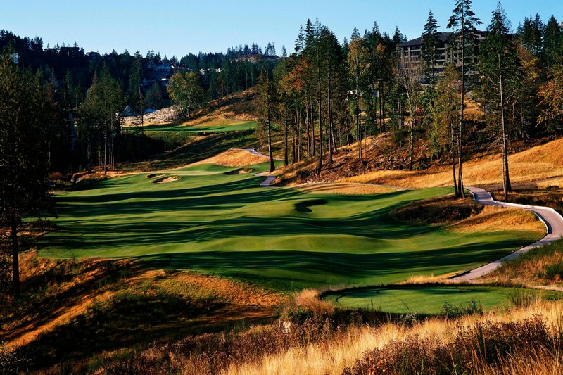 The Westin Bear Mountain Victoria Golf Resort & Spa-Valley Hole #18<br/>Image from Leonardo