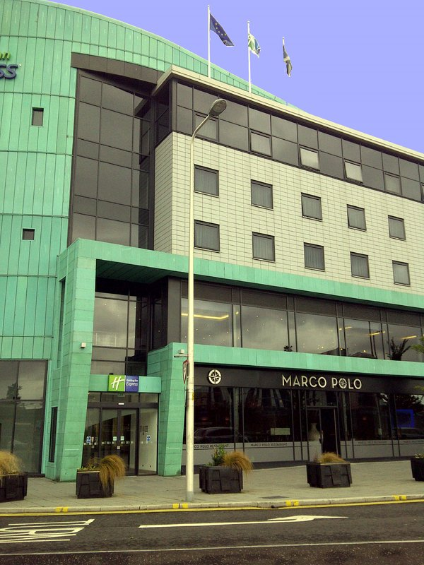 Holiday Inn Express Dundee-Entrance<br/>Image from Leonardo
