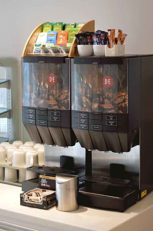 Holiday Inn Express Dundee-Bean to cup Coffee station<br/>Image from Leonardo