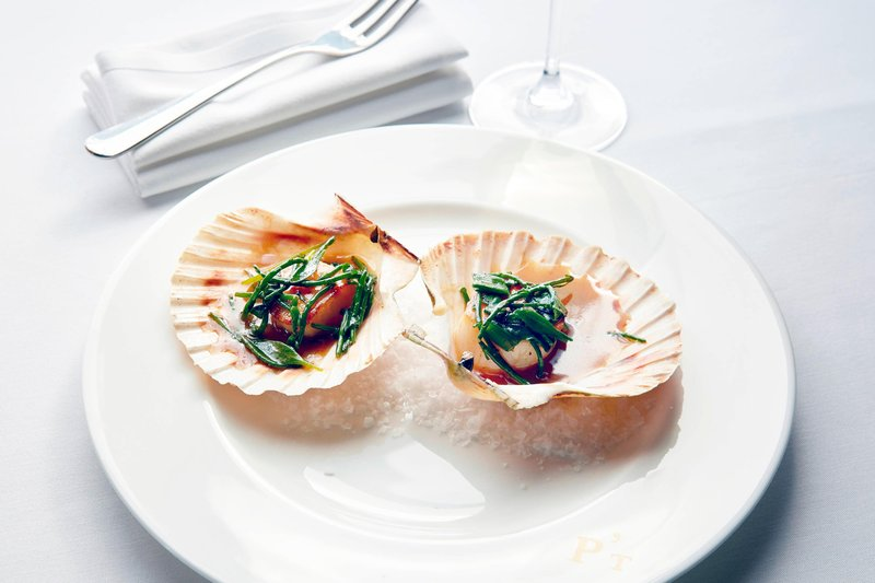 University Arms Hotel, Autograph Collection-Parker's Tavern - Hand Dived Scallops in Shell<br/>Image from Leonardo