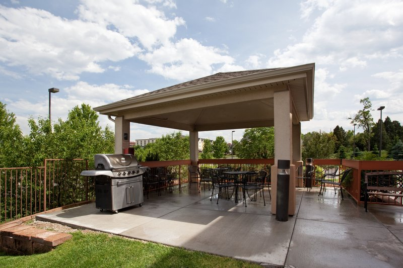 Candlewood Suites Denver West Federal Ctr-Relax at our Gazebo BBQ Area at Candlewood Suites an IHG hotel<br/>Image from Leonardo
