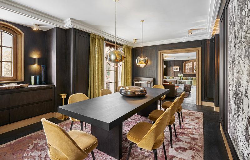 Mercure Courchevel Hotel-APGChalet LAmarante Living Room JMS<br/>Image from Leonardo