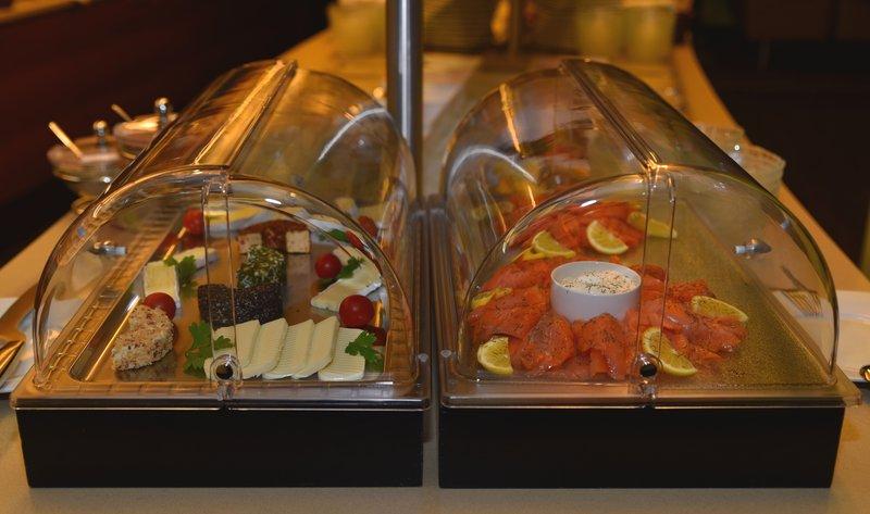 Holiday Inn Salzburg City-Cheese and Salmon <br/>Image from Leonardo