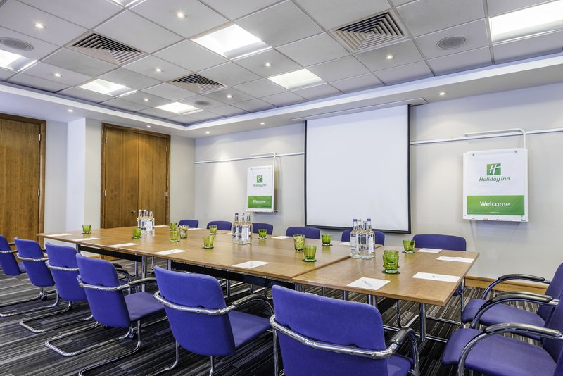 Holiday Inn Milton Keynes - Central-Meeting Room set in a boardroom style<br/>Image from Leonardo