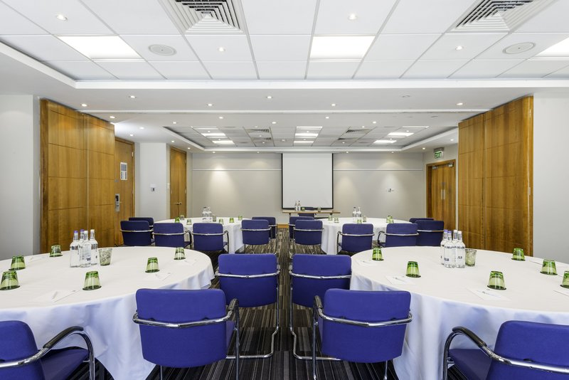 Holiday Inn Milton Keynes - Central-Orchard room set in a cabaret style<br/>Image from Leonardo