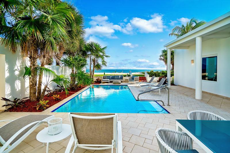 CuisinArt Golf Resort & Spa.-Beachfront Three Bedroom Villa Patio<br/>Image from Leonardo