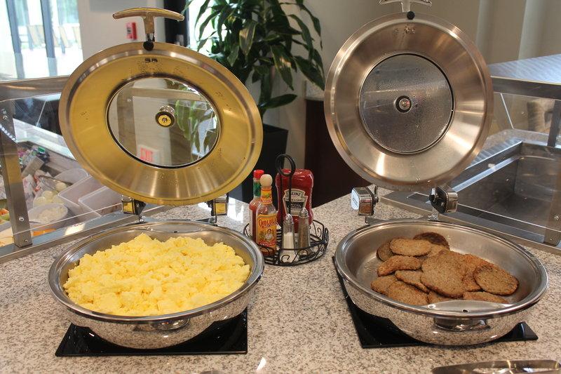 Staybridge Suites Carlsbad - San Diego-Eggs & Sausage offering during breakfast<br/>Image from Leonardo