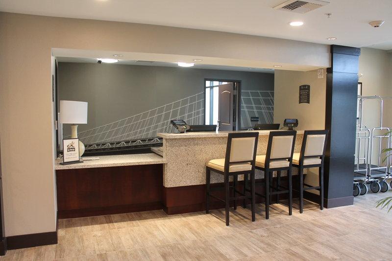 Staybridge Suites Carlsbad - San Diego-Welcoming Front Desk<br/>Image from Leonardo