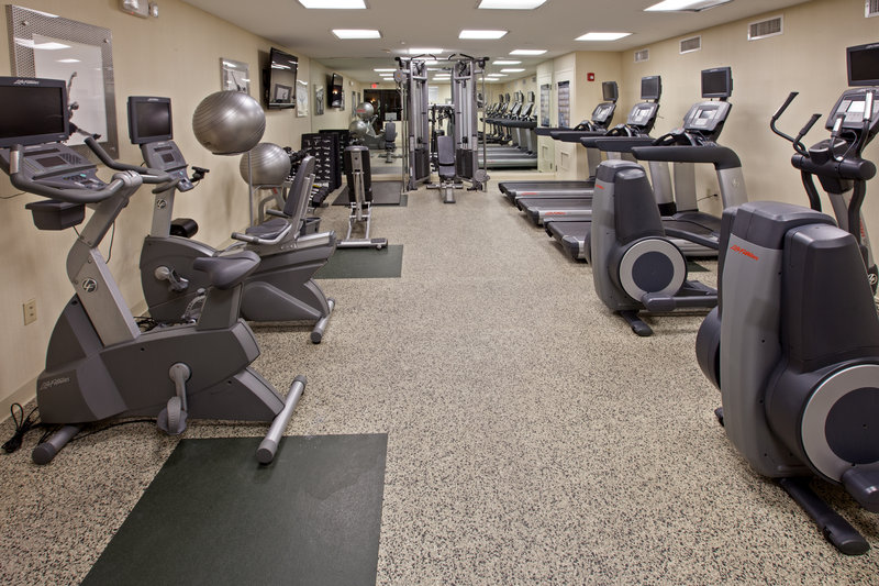 Holiday Inn Evansville Airport-Work out in Holiday Inn Evansville's state of the art fitness room<br/>Image from Leonardo