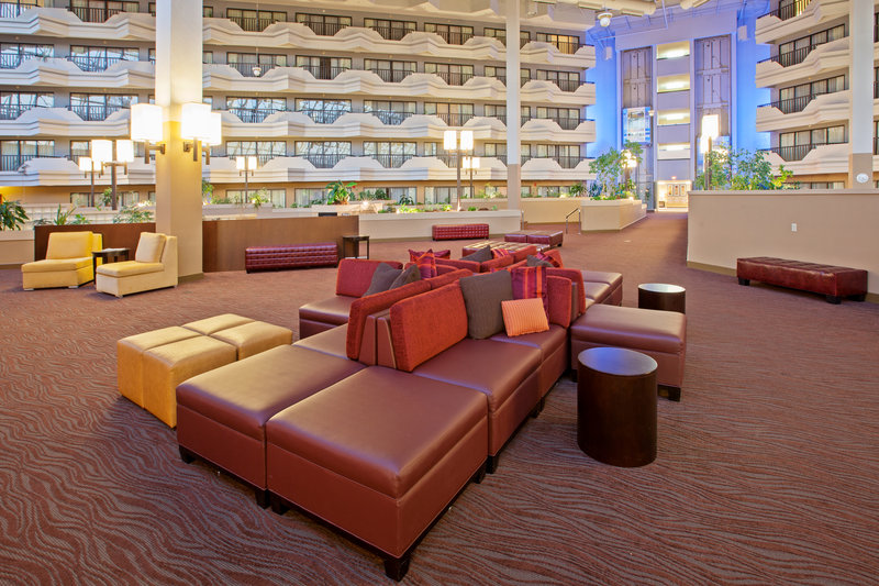 Holiday Inn Evansville Airport-Enjoy the newly renovated lobby at the Holiday Inn Evansville<br/>Image from Leonardo