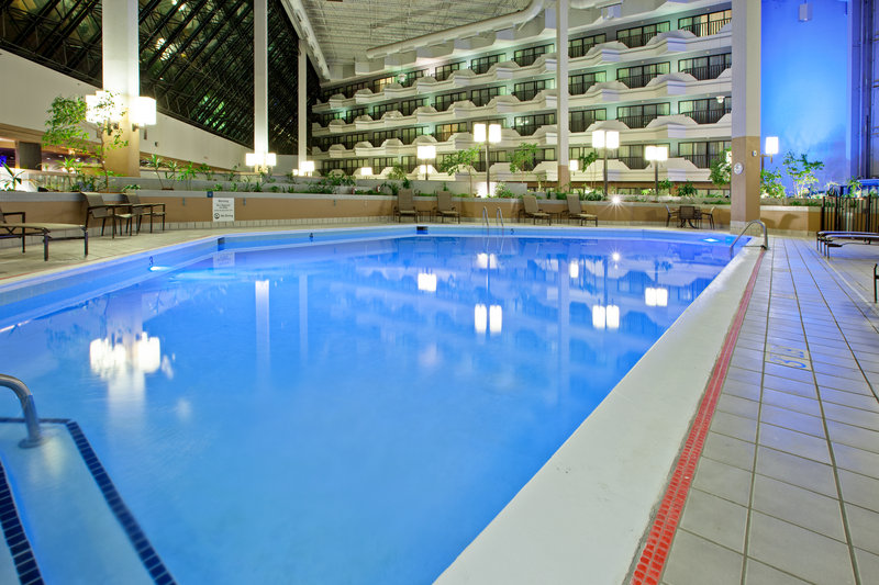 Holiday Inn Evansville Airport-Our pool is great for swiming laps at the Holiday Inn Evansville<br/>Image from Leonardo