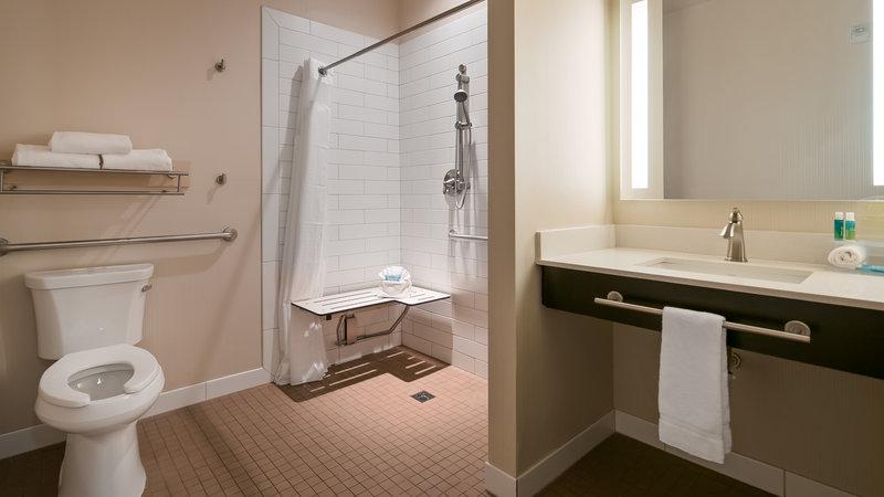 Holiday Inn Express Bellingham-Guest Bathroom<br/>Image from Leonardo