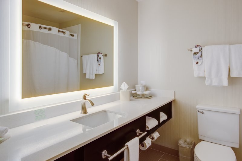 Holiday Inn Express Bellingham-Backlit Mirror<br/>Image from Leonardo