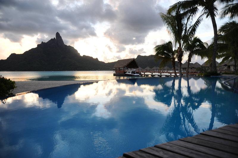 Le Meridien Bora Bora - Outdoor Pool <br/>Image from Leonardo