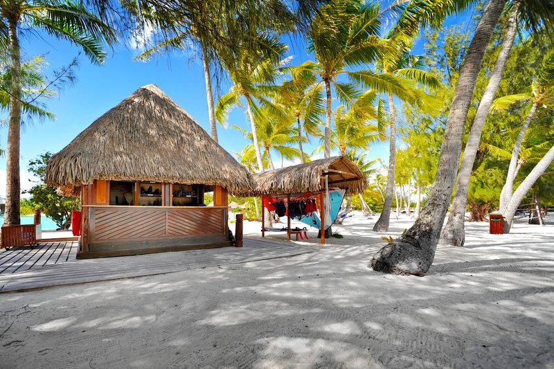 Le Meridien Bora Bora - Beach Fare <br/>Image from Leonardo