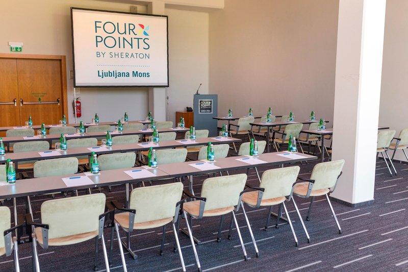 Four Points by Sheraton Ljubljana Mons-Meeting Room Plečnik Five<br/>Image from Leonardo