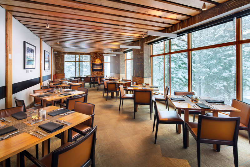 The Westin Monache Resort, Mammoth-WhiteBark Restaurant<br/>Image from Leonardo
