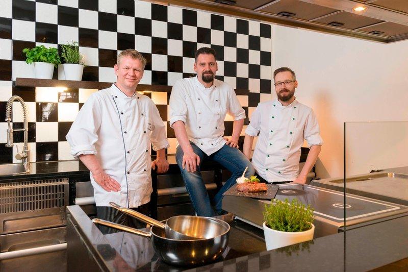 Le Meridien Grand Nuremburg-Kitchen Team<br/>Image from Leonardo