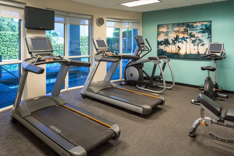 Courtyard Marriott Fort Lauderdale Airport & Cruise Port-Fitness Center<br/>Image from Leonardo