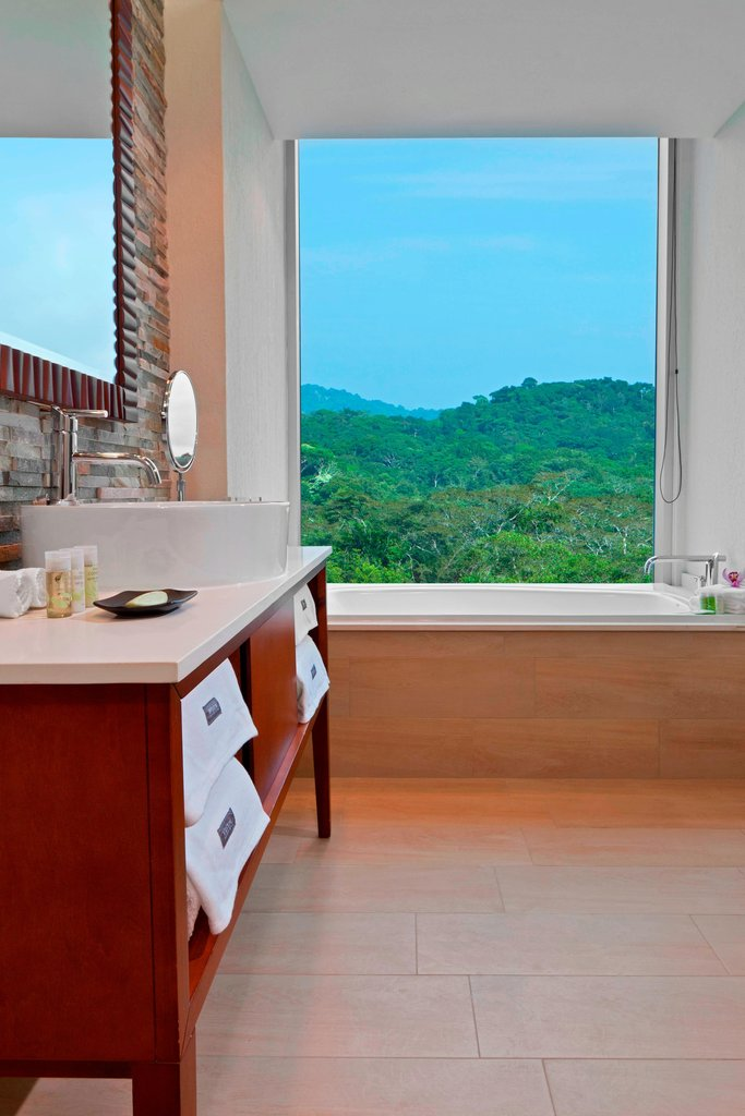 Dreams Playa Bonita Panama - Deluxe Green View Room - Bathroom <br/>Image from Leonardo
