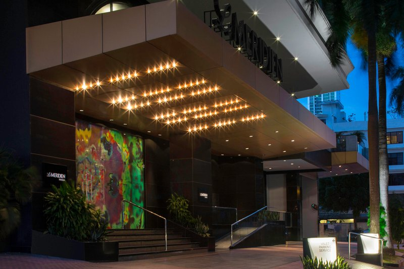 Le Meridien Panama - Main Entrance <br/>Image from Leonardo